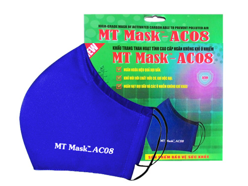 Khẩu Trang MT Mask AC08 Xanh Bích